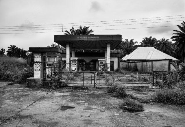 Abandoned petrol station, Umokpo Village (photo by Emeka Okereke)