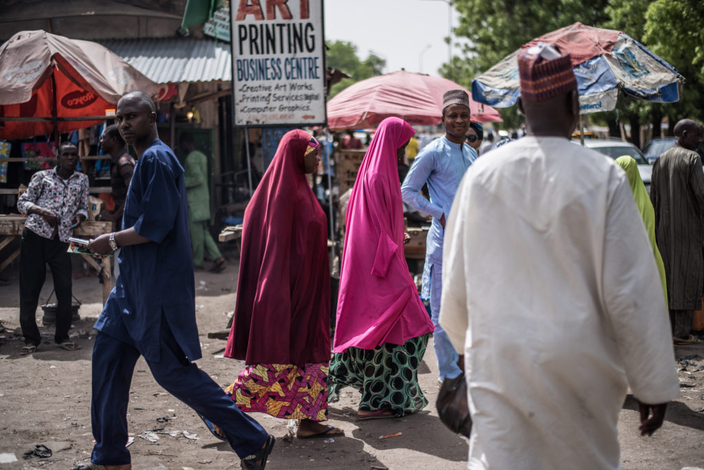 'The Maiduguri gaze'; Photo by Emeka Okereke)